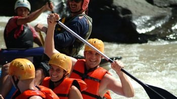 Full-Day Whitewater Rafting with Transfer to Arenal