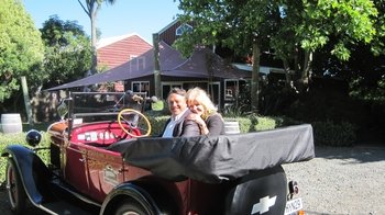 Private Full-Day Vintage Car Tour with Wine Tasting & 3-Course Lunch
