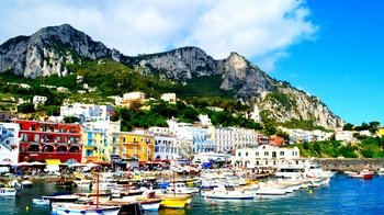 Shore Excursion: Capri & Pompeii Full-Day Tour from Naples
