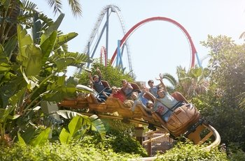 PortAventura Park & Ferrari Land Tickets with Transport
