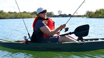 Guided Kayak Fishing Tour on the Sunshine Coast