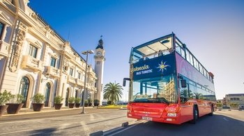 Hop-On Hop-Off Double-Decker Bus Tour with 2 Routes