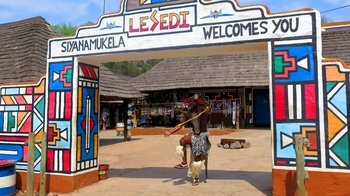 Private Tour of Lesedi Cultural Village