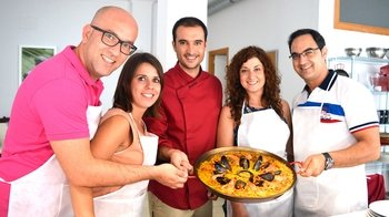 Spanish Cooking Class with Market Visit & Chocolate Museum Tour
