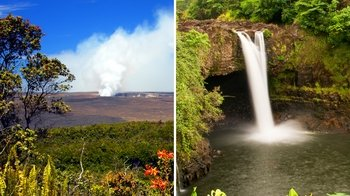 Shore Excursion: Hawaii Volcanoes National Park & Rainbow Falls Tour