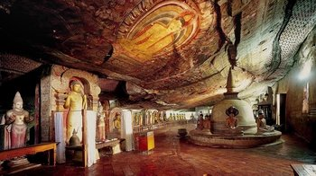 Private Full-Day Tour to Sigiriya & the Golden Temple of Dambulla