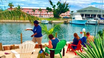 My Bahamian Beach House Experience with Lunch & Open Bar