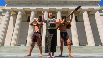 General Admission & Maori Cultural Performance at the Auckland Museum