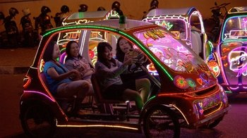 Night-time Alun-Alun Kidul Tour & Lighted Rickshaw Ride