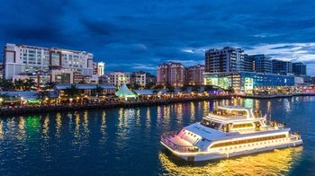 Guided Evening Cruise from Kota Kinabalu with Live Music