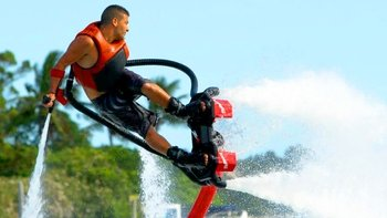 San Antonio Bay Flyboard Hire