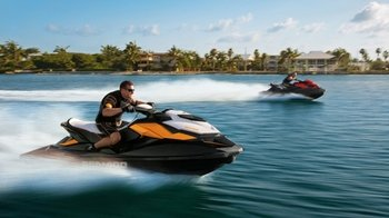 Guided San Antonio Bay Jet Ski Experience