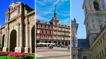 3-Tour Combo: 2-Day Madrid Highlights, El Escorial & Valley of the Fallen