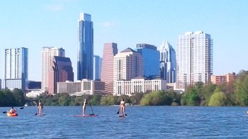 City Skyline Kayak Tour