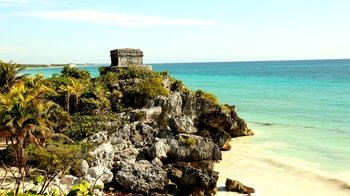 Day Trip to Tulum, Playa del Carmen & Cenote Wayak with Lunch