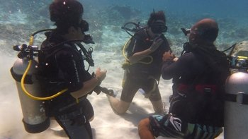 PADI Discover Scuba Diving at Gili Trawangan