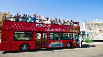 Hop-On Hop-Off Sightseeing Tour of Heraklion