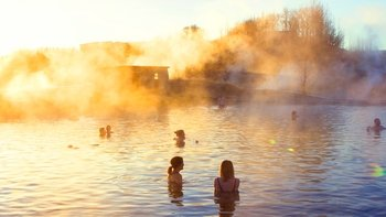 Secret Lagoon Thermal Pool & Northern Lights Tour with Dinner
