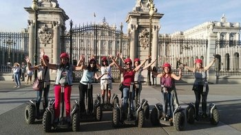 Private Segway Tour of Central Madrid