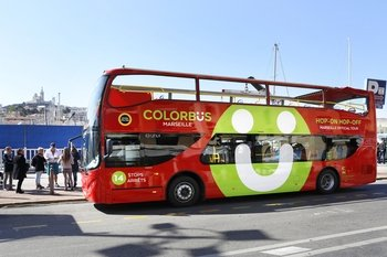 Colorbus Marseille Hop-On Hop-Off Sightseeing Tour