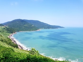 Private Marble Mountains, Hai Van Pass & Lang Co Beach Tour from Hoi An