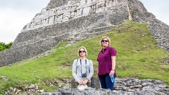 Private Guided Tour of the Xunantunich Mayan Ruins with Cave Tubing