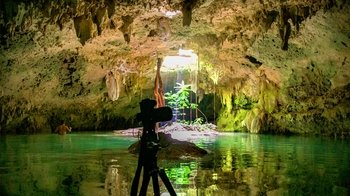Private Cenote, Muyil & Sian Kaan Sunset Photography Tour