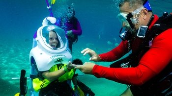 Private Sea-Trek Diving Experience for People with Limited Mobility