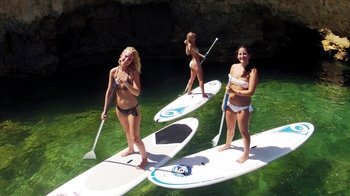 Full-Day Tour with Paddleboarding or Kayak & Jeep Safari