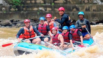 Guided Whitewater Rafting Adventure on Class III & IV Rapids