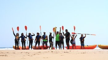 Guided Sea-Kayaking Tour from Panorama Beach