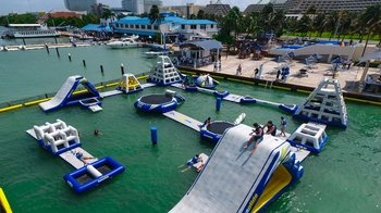 Admission to Hydrobounce Aquapark