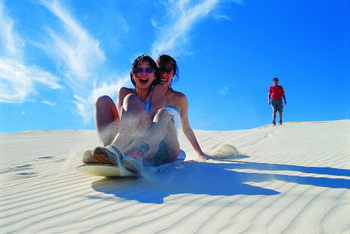 Turquoise Coast 1 Day Experience with Sandboarding from Perth