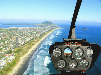 Mount and City Scenic Helicopter Flight