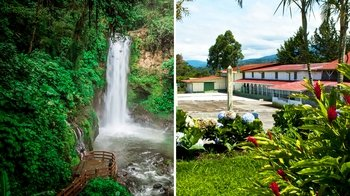Doka Coffee Estate & La Paz Waterfall Gardens Tour