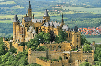 Full-Day Hohenzollern Castle Tour from Frankfurt