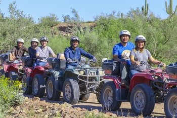 ATV Guided Tours in Beautiful Sedona