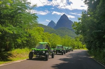 Soufriere Buggy Safari