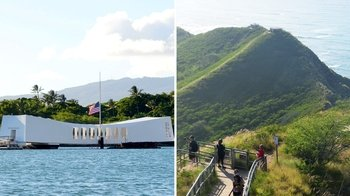 Pearl Harbor Audio-Guide & Diamond Head Souvenir Pack