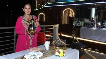 Dhow Cruise at Dubai Water Canal with Buffet Dinner and Entertainment