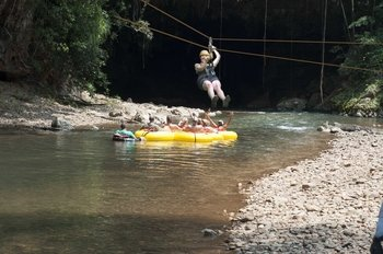 Cave Tubing & Zip line Adventure