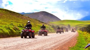Full-Day ATV Adventure to Moray & Maras