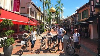 Half-Day Historic Singapore Bicycle Tour