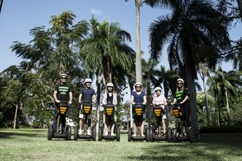 45 Minute Segway Sightseeing Adventure Day Tour of Brisbane
