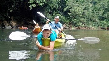 Full-Day Semenggoh Nature Reserve Tour & Kayaking Adventure