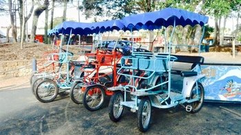 Quadracycle Hire