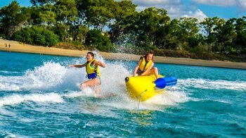 Hervey Bay Banana Boat Ride