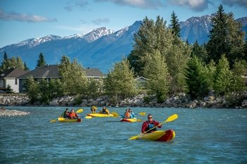 Inflatable Kayak Tours - An Evening Paddle