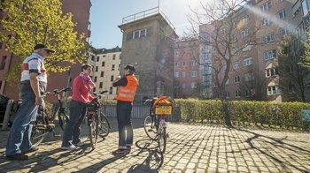 ,Visita en bici,Muro de Berlín
