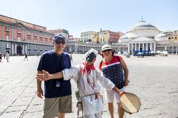 Best of Naples Walking Tour with Coffee & Pastries